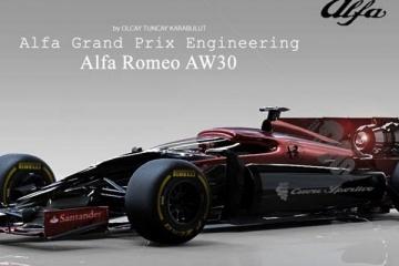 Alfa Romeo AW30: rientro in pista del Biscione?