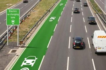 Auto elettriche: dalla GB la soluzione; corsie stradali wireless