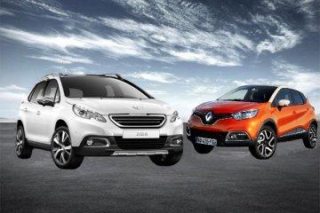 Peugeot 2008 vs Renault Captur: crossover a confronto sotto la Tour Eiffel