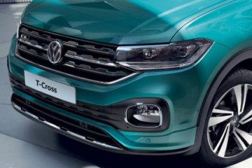 La nuova T-Cross Volkswagen debutta sul mercato italiano
