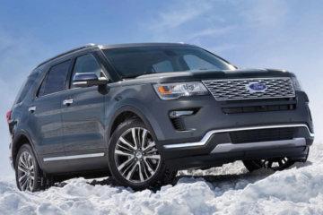 Explorer, il SUV della Ford sbarca anche in Europa