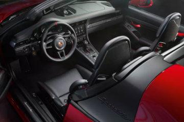 Porsche 911 Speedster: meno di 2000 esemplari per un'auto destinata a diventare icona